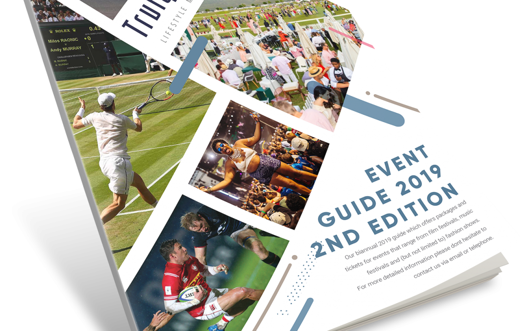 DOWNLOAD OUR SECOND EDITION BIANNUAL 2019 GUIDE